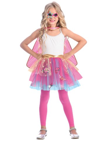Super Hero Tutu - Child Costume front