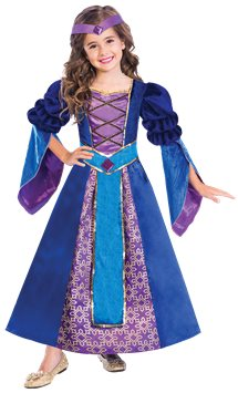 Medieval Princess - Child Costume