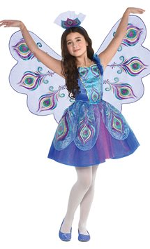 Pretty Peacock - Child Costume