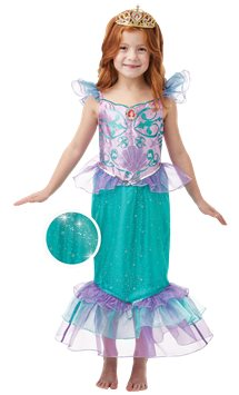 Disney Glitter & Sparkle Ariel - Child Costume