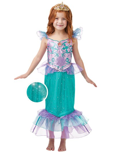 Glitter & Sparkle Ariel - Child Costume