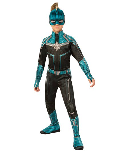Captain Marvel Kree Suit - Child Costume