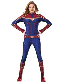 Captain Marvel Hero Suit