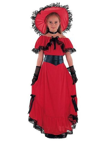 Scarlett O Hara Child Costume Party Delights