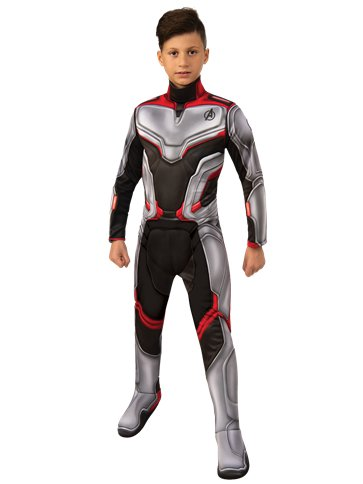 Deluxe Team Suit - Child Costume pla
