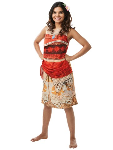 Disney Moana Adult Costume Party Delights
