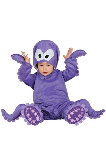 Baby Octopus - Baby & Toddler Costume front