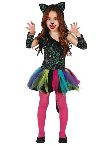 Rainbow Leopard - Child Costume front