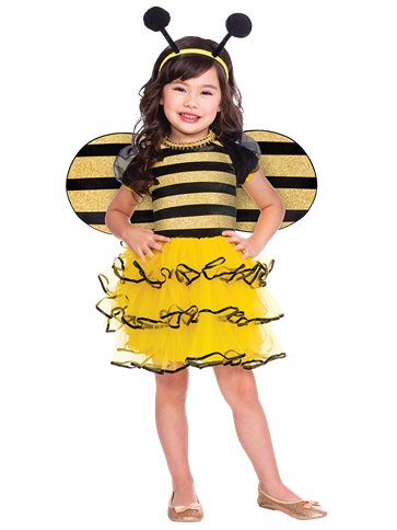 Bumble Bee - Toddler & Child Costume front