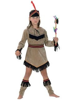 Indian Girl - Child Costume
