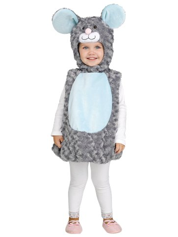 Li'L Grey Mouse - Baby & Toddler Costume front
