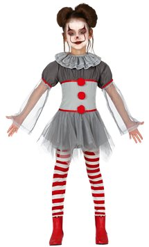 Bad Clown Girl - Child Costume