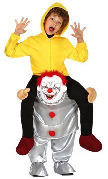 Let Me Go Bad Clown - Child Costume