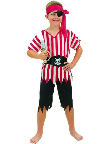Pirate Boy - Child Costume front