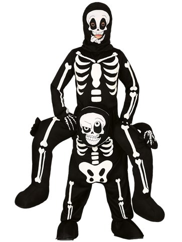 Let Me Go Skeleton - Child Costume front