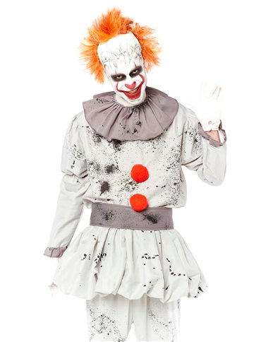 Killer Clown - Adult Costume back