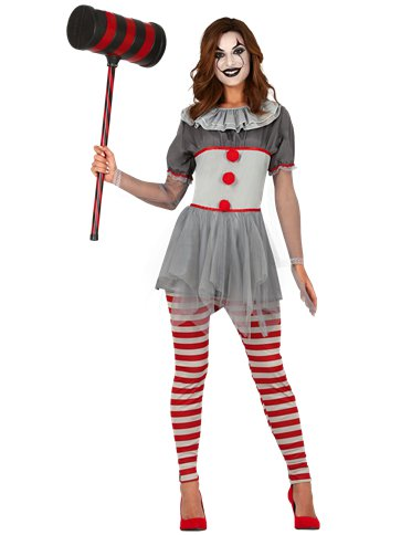 Killer Clown - Adult Costume front