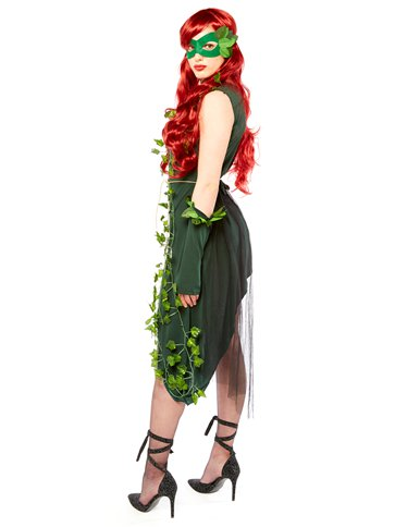Plant Villain - Adult Costume back