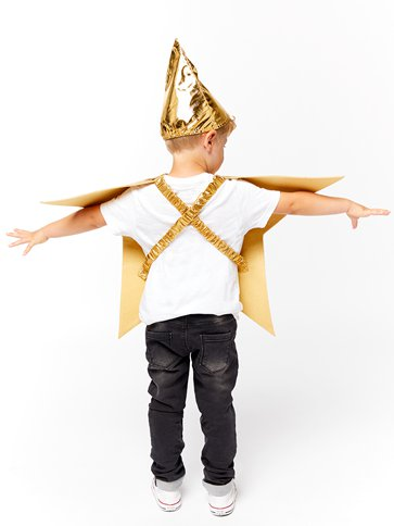 Star Tabard - Child Costume back