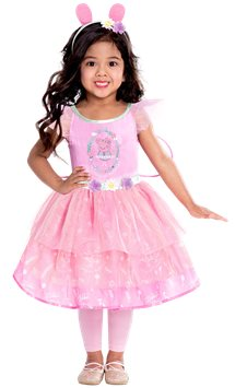 Peppa Pig Fairy Dress - Toddler & Child Costume