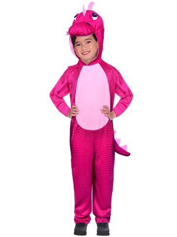 Pink Dinosaur - Toddler & Child Costume front