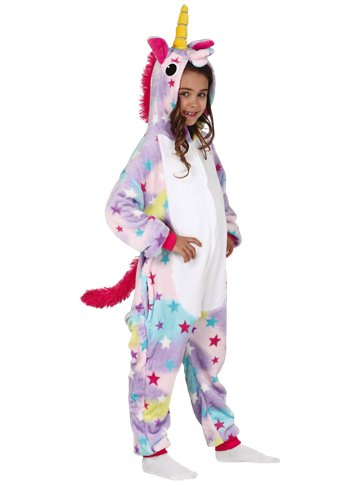 Unicorn Onesie - Child Costume front