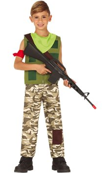 Mercenary Gamer - Child & Teen Costume