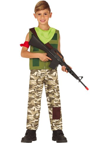 Mercenary Gamer - Child & Teen Costume front
