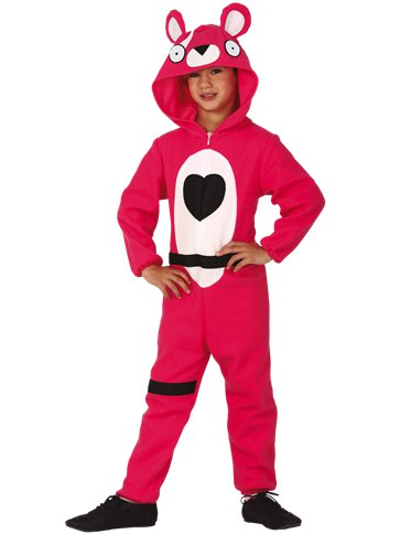 Pink Bear - Child & Teen Costume front