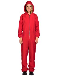 Red Heist Jumpsuit