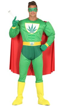 Marijuana  Man - Adult Costume