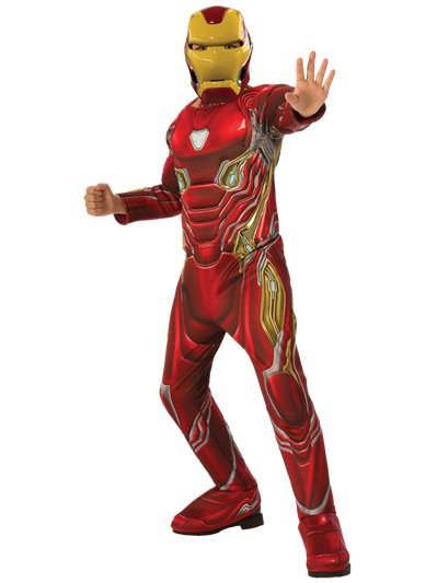 Iron Man Deluxe - Child Costume