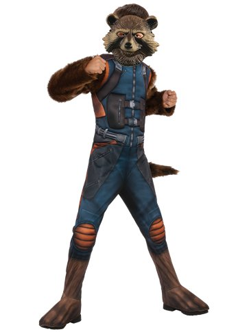 Rocket Racoon Deluxe - Child Costume front