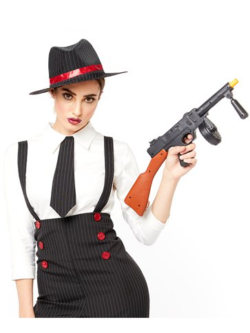 Gangster Lady - Adult Costume left