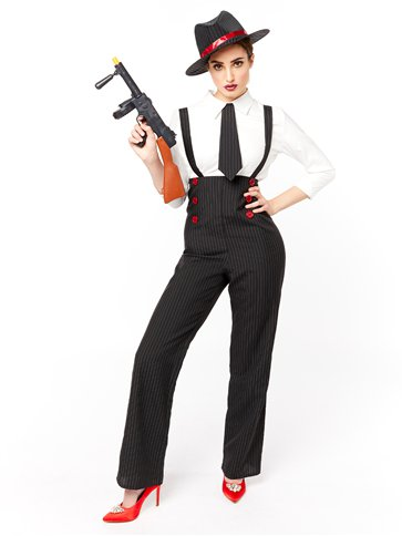 Gangster Lady - Adult Costume pla