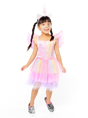 Mythical Unicorn Dress - Toddler & Child Costume front