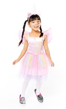 Mythical Unicorn Dress - Toddler & Child Costume