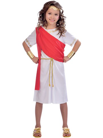 Toga  Girl - Child Costume front