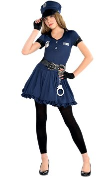 Cop  Cutie - Child Costume
