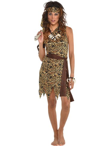Cavewoman  - Adult Costume front