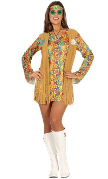 Groovy Hippie - Adult Costume