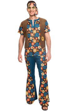 60s Groovy Hippie - Adult Costume