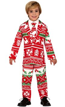 Christmas Suit - Child Costume