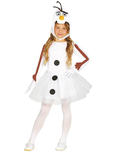 Girl Snowman - Child Costume