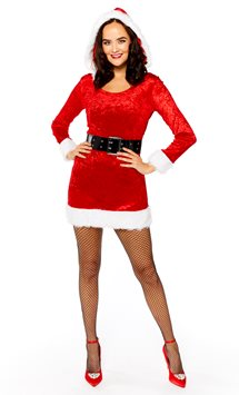 Mrs Claus - Adult Costume