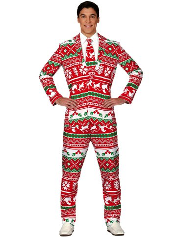 Christmas Suit - Adult Costume front
