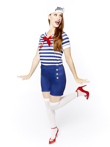Sassy Sailor Ahoy - Adult Costume front