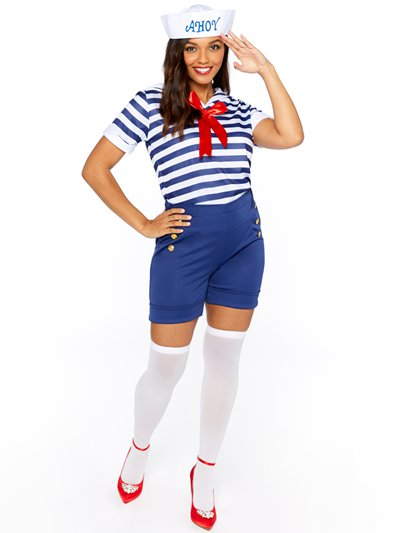 Sassy Sailor Ahoy - Adult Costume