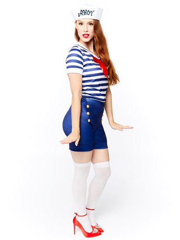 Sassy Sailor Ahoy - Adult Costume left