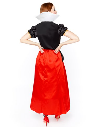 Queen of Hearts - Adult Costume back
